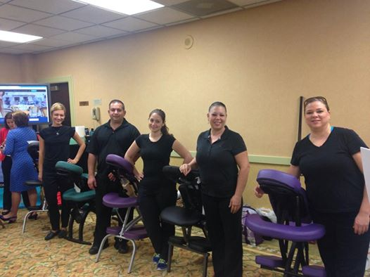 event chair massage group